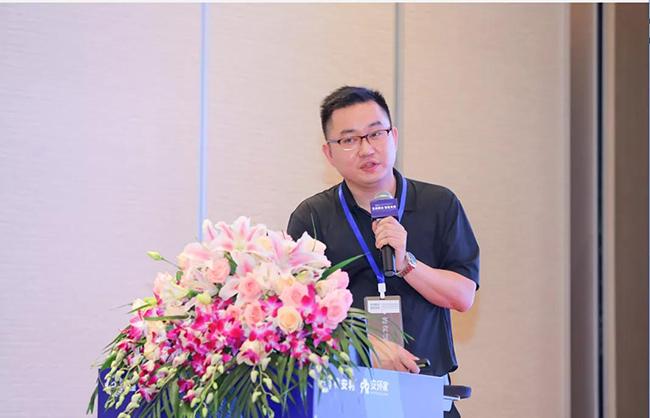 """孔庆端副总裁发布""""中国企业安全生产风险管理服务新模式""""并作主题发言"""